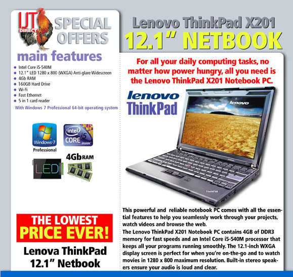 Thinkpad X201 Upgrade To The X220 Below Ijt Direct