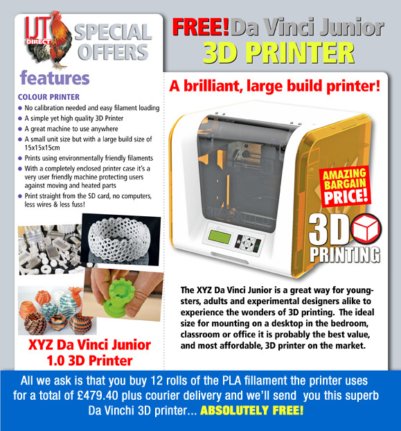 3D Da Vinci Junior printer deal