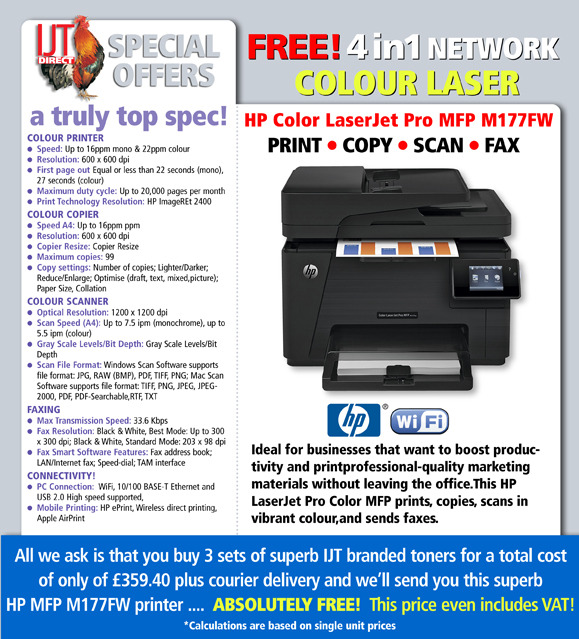Dell E525w Deal Sold Out See Hp Mfp M177fw Upgrade Below