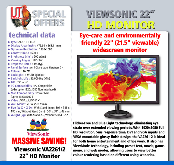 Viewsonic HD Monitor