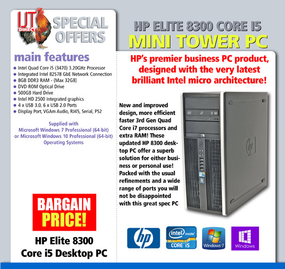 HP Elite 8300 Mini Tower