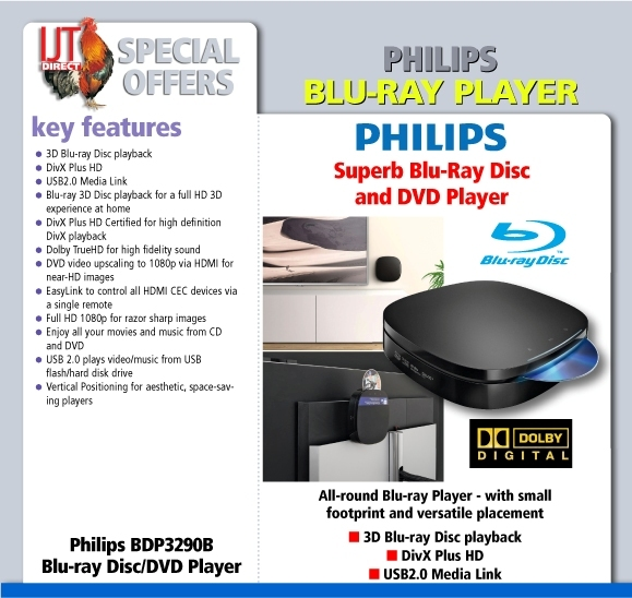 Philips BDP3290B Blu-ray Disc / DVD Player