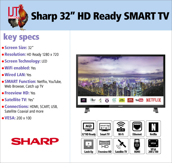 Sharp LC32HI5012KF 32\