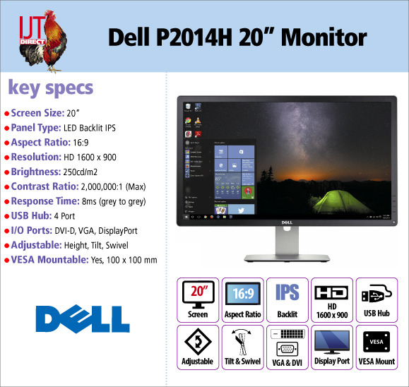 Dell Professional P2014H 20\