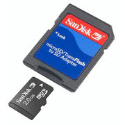 Sandisk 2gb Micro SD with Adaptor