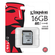 Kingston 16GB SDHC Class 10 G2 SD10VG2/16GB SDS/16GB