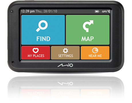 buy navman mio moov m410 4 3 gps satnav western europe maps at ijt direct. Black Bedroom Furniture Sets. Home Design Ideas