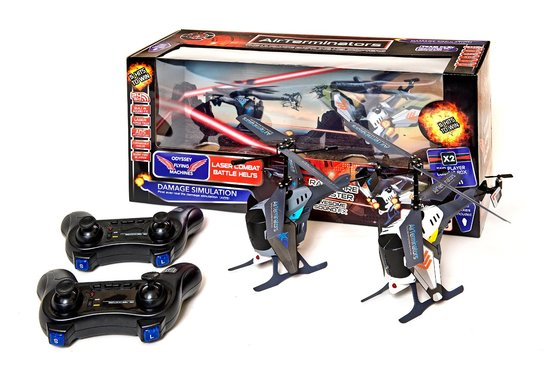 Buy Air Terminators Twin Remote Control Battle Helicopters