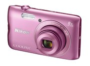 Nikon Coolpix A300 20.1MP Digital Camera 8x Optical Zoom 2.7